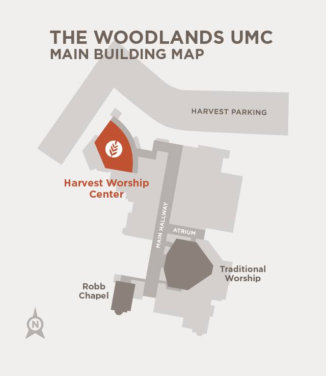 Worship Community Location Map